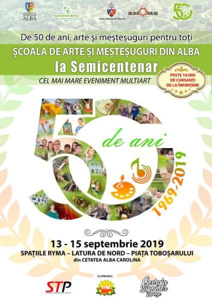 Școala de arte și meșteșuguri din județul Alba la semicentenar