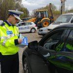 Acţiune cu efective suplimentare a polițiștilor la Alba Iulia