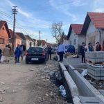Primarul Municipiului Sebeș, Dorin Nistor a inspectat stadiul lucrărilor pe străzile Unirii din Petrești și Ulița de Sus din Lancrăm