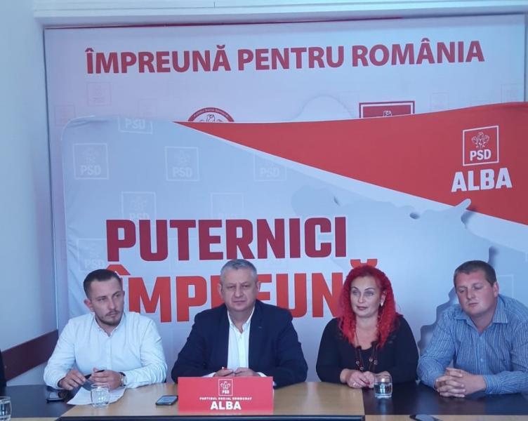 """PSD Alba: """"Partidul lui Ponta, """"decimat"""" în Alba: Peste 300 de membri ai PRO România s-au înscris în PSD"""""""