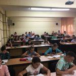 """Peste 200 de elevi din tot judeţul Alba, prezenţi la Concursul de matematică """"ArhimatematicuS"""""""