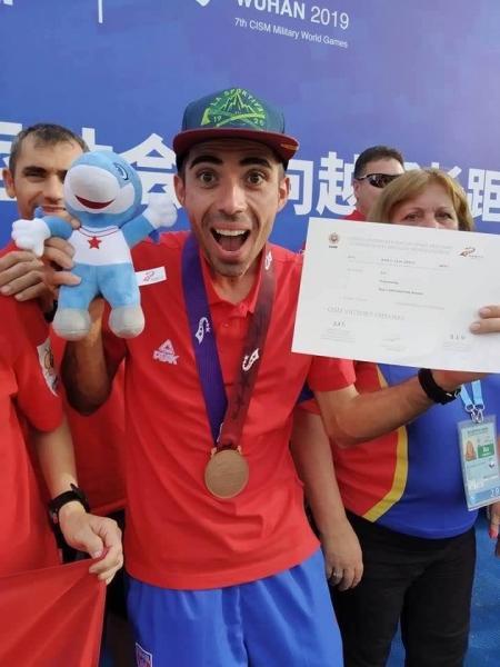 Ionuț Zincă, medalie de bronz la Jocurile Mondiale Militare de la Wuhan