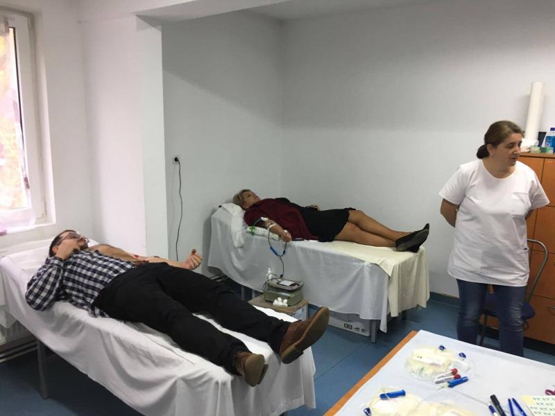Inițiativă – Colectă mobilă de sânge derulată cu succes la Abrud
