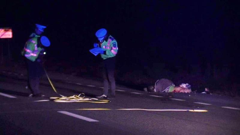 Tragedie la Albac! Un bărbat a murit după ce a fost acroșat de un autoturism. Șoferul a fugit de la locul accidentului