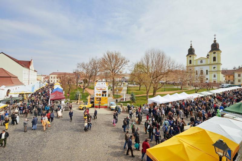 Ziua națională a produselor alimentare românești va fi sărbătorită joi, 10 octombrie, în Piața Mare din Blaj