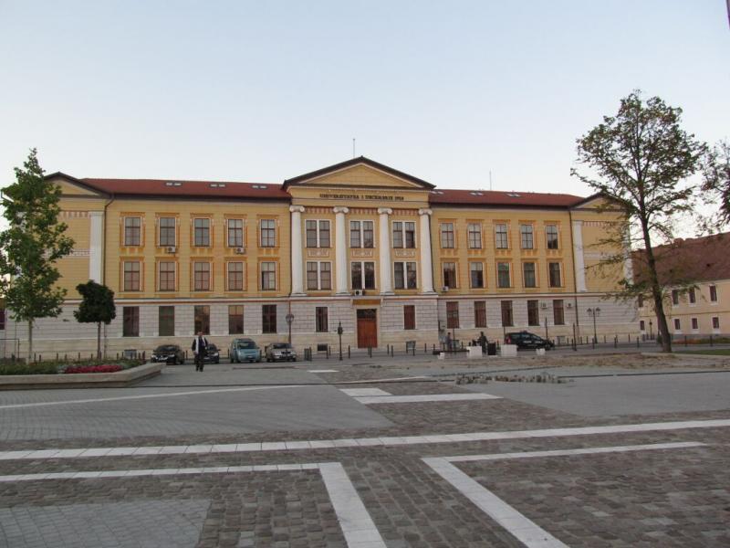 """Eveniment festiv de primire a studenților Erasmus+ Incoming la Universitatea """"1 Decembrie 1918"""" din Alba Iulia"""