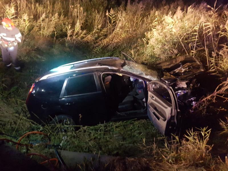 Accident rutier deosebit de grav pe DN1, la intrarea în Aiud dinspre Alba Iulia (foto)