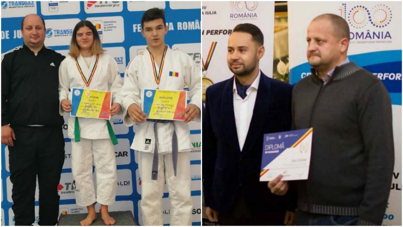 CS Unirea Alba Iulia, medalii de aur și argint la Concursul Național de Judo Ne Waza