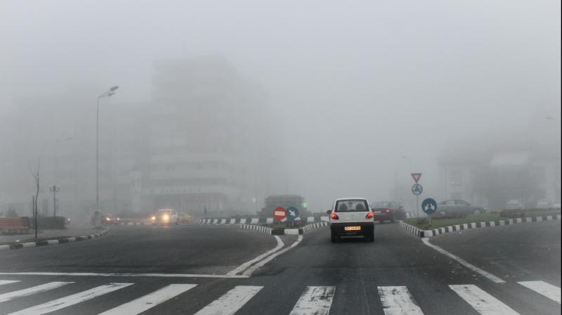 ANM – Vezi ce localități din județul Alba au primit avertizare Cod Galben de ceață
