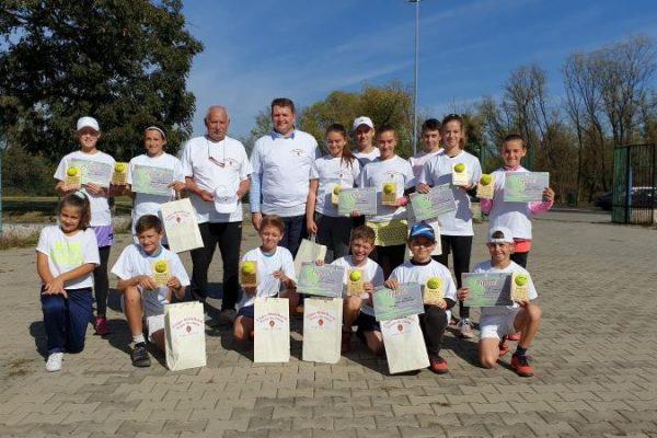 """Câștigătorii cupei """"Műhlbach"""" la tenis de câmp, ediția a XV-a, Sebeș, 12-15 octombrie 2019"""
