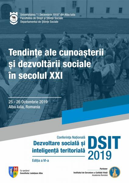 """Conferință pe teme sociale organizată la Universitatea """"1 Decembrie 1918"""" din Alba Iulia"""
