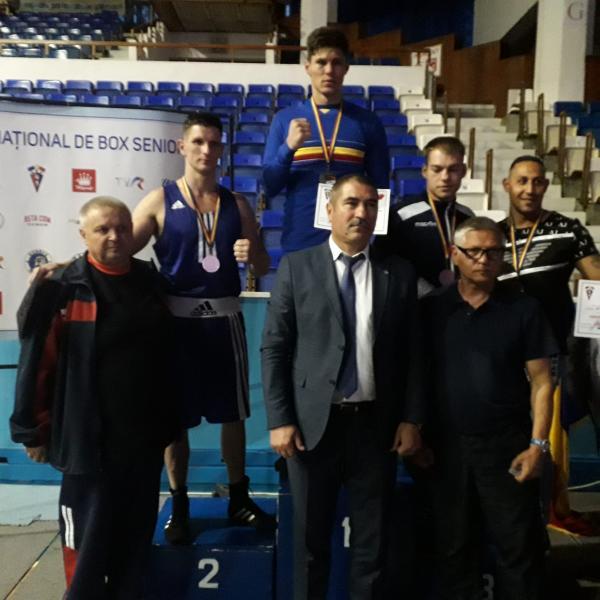 CS Unirea Alba Iulia, medalii de argint și bronz la Campionatul Național de Box
