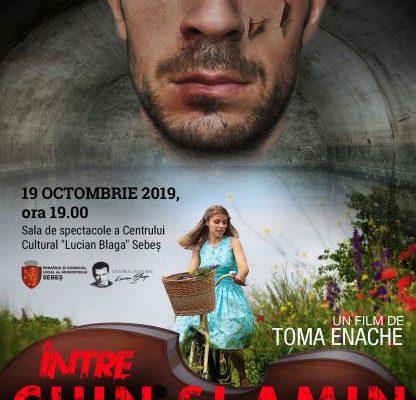 """Sebeș - Proiecție cinematografică sâmbătă, 19 octombrie, ora 19.00. ''Între chin și amin'' - Un film despre realitatea brutală a  """"Fenomenului Pitești"""""""