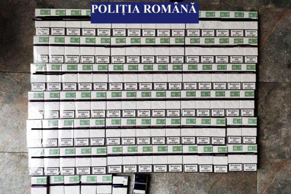 Percheziții ale polițiștilor în mai multe locații din Cugir și Sebeș, într-un dosar de contrabandă cu țigări