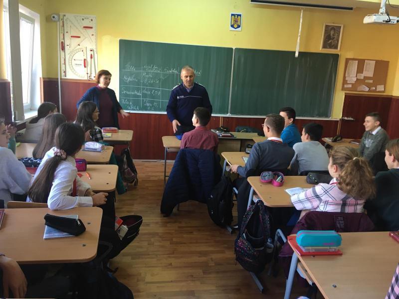 Campanie de informre a IPJ Alba pentru 500 de elevi din județul Alba