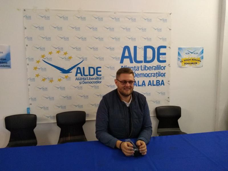 """Bogdan Lazăr, consilier local ALDE Alba:""""Am fost înjurat și amenințat cu bătaia de un consilier PSD"""""""