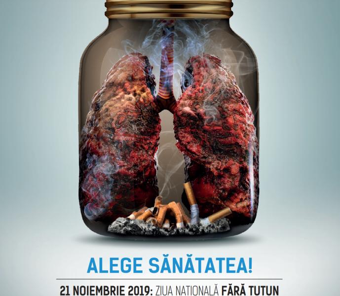 21 noiembrie, Ziua Națională fără tutun