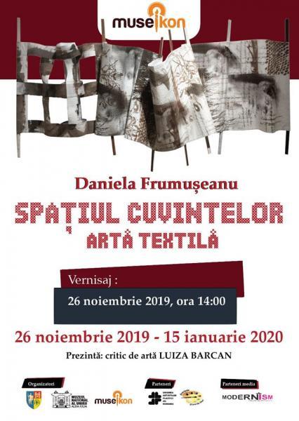 Expoziție de artă textilă găzduită de Muzeul Național al Unirii din Alba Iulia