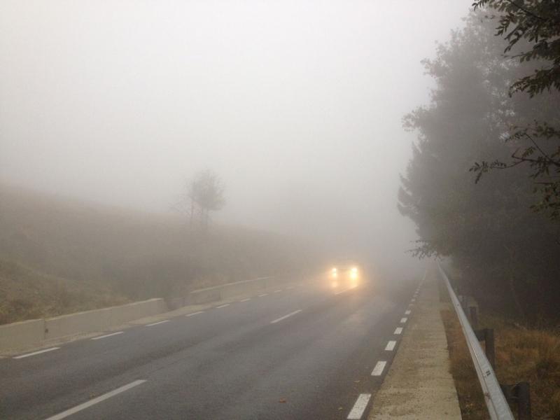 Mai multe localități din județul Alba, sub incindența unei avertizări Cod Galben de ceață