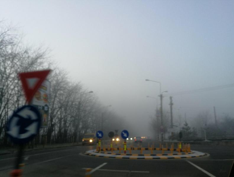 Meteo – Mai multe localități din județul Alba, sub incidența unei avertizări Cod Galben de ceață