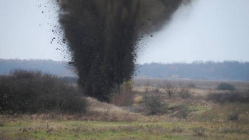 Atenție! Distrugeri de muniție în poligonul de trageri din Garnizoana Micești