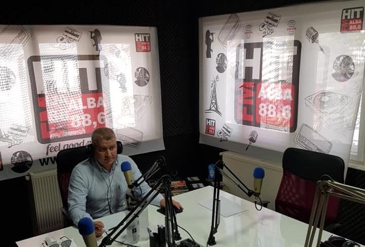 "Florin Roman, deputat PNL, invitat la emisiunea ""La ordinea zilei"" de la radio HIT FM Alba, 88,6 FM"