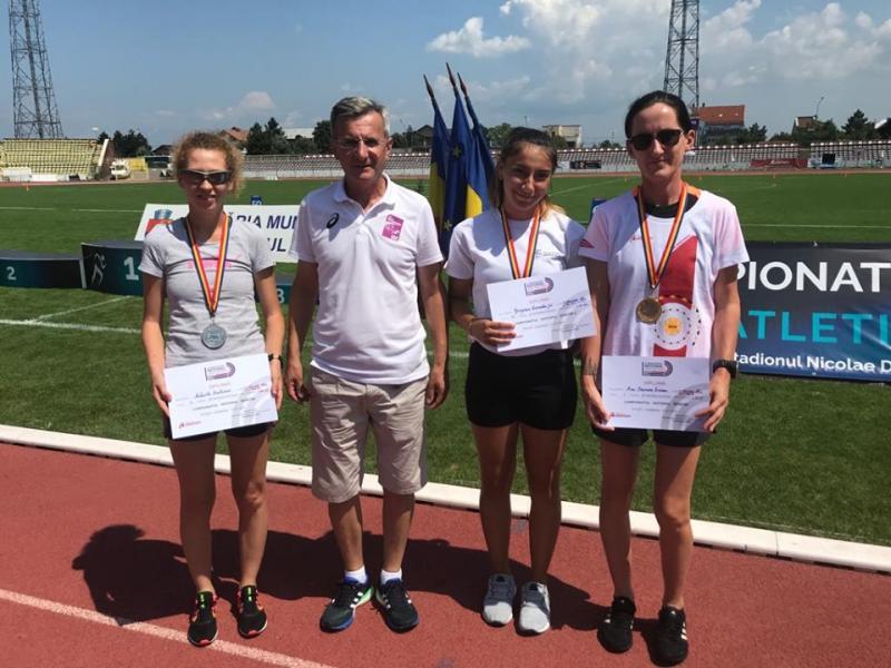 Două medalii de aur și una de argint câștigate de altlete din cadrul CS Unirea Alba Iulia la Campionatul Național de marș