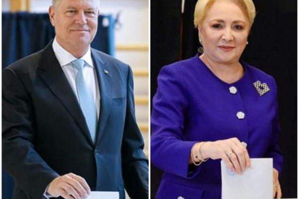 Actualitate - Klaus Iohannis și Viorica Dăncilă se vor înfrunta în turul doi al alegerilor prezidențiale 2019