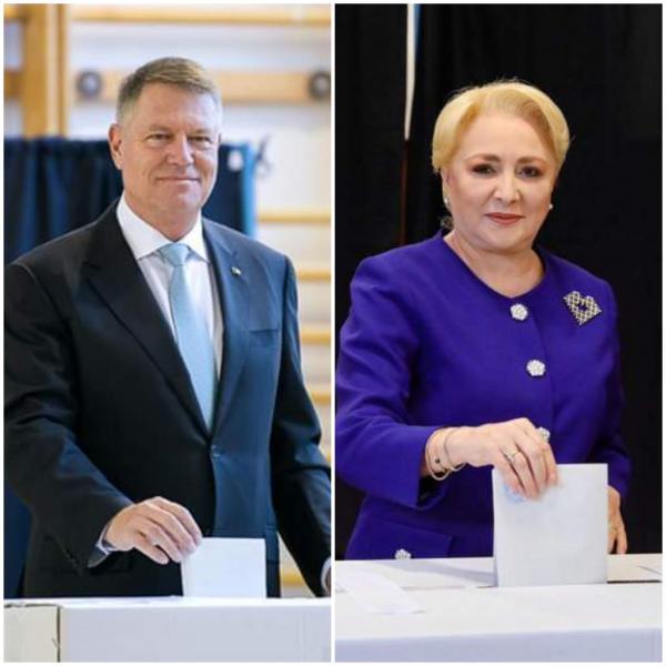 Actualitate – Klaus Iohannis și Viorica Dăncilă se vor înfrunta în turul doi al alegerilor prezidențiale 2019