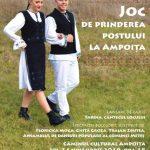 Înainte de începerea postului Crăciunului, la Ampoița va fi organizat un joc popular tradițional, o lansare de carte și un spectacol folcloric