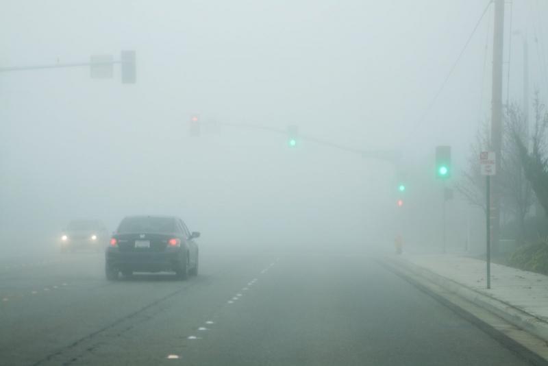 Avertizare Cod Galben de ceață pentru mai multe localități din județul Alba