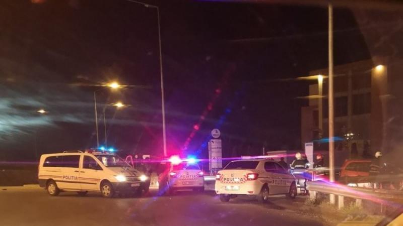 Ocna Mureș – Urmărire ca în filme pentru prinderea unui șofer care a nu a oprit la semnalele polițiștilor rutieri