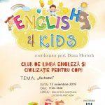 """Proiectul ''English 4 Kids'', o inițiativă de succes a Bibliotecii Judeţene """"Lucian Blaga"""" Alba"""