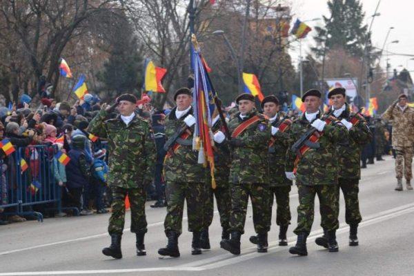 Ceremonii militare în Alba Iulia cu ocazia Zilei Naţionale a României