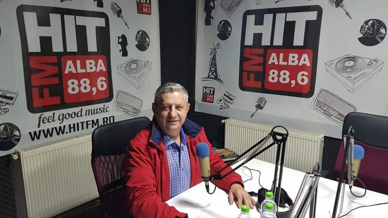 """Invitatul emisiunii """"La ordinea zilei"""" de vineri, 20 decembrie de la radio HIT FM Alba, 88,6 FM va fi deputatul PSD de Alba, Ioan Dîrzu"""