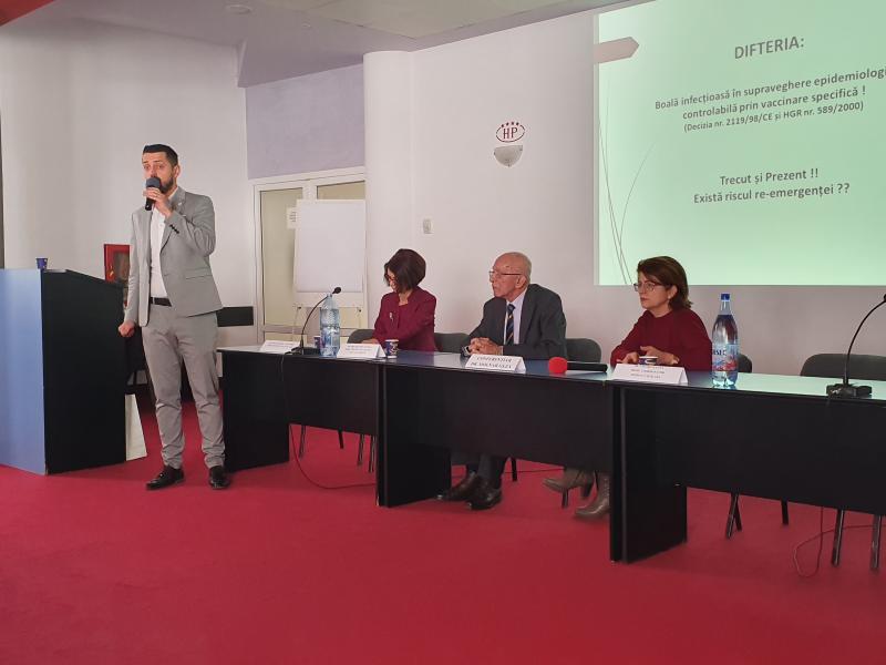 """70 de medici prezenți la masa rotundă cu tema """"Difteria – între trecut și prezent"""""""