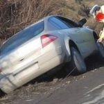 Cergău - Un șofer în stare de ebrietate a ajuns cu mașina în șanț