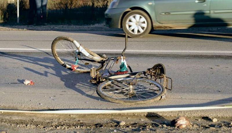 Lancrăm – Șofer din Gârbova, prins după ce a lovit cu o autoutilitară un biciclist și a fugit de la locul accidentului