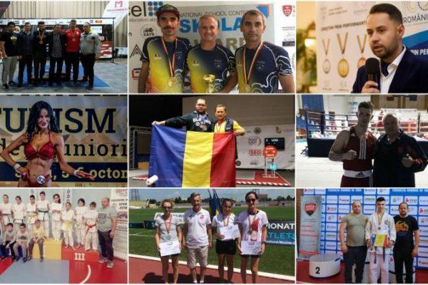 2019, cel mai bun an din istorie pentru CS Unirea Alba Iulia. 34 de sportivi au obținut 140  de medalii