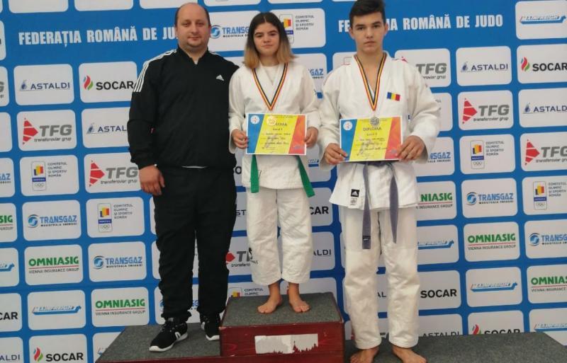 CS Unirea Alba Iulia, locurile 1 și 2 la turnee naționale și internaționale de judo