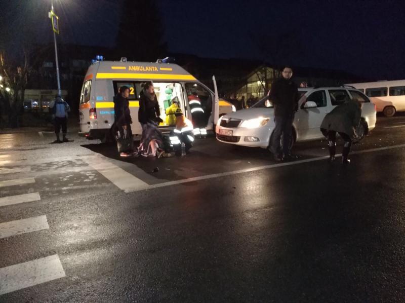 Alba Iulia – Un bărbat a fost lovit mortal de un autoturism în apropierea unei treceri de pietoni