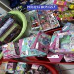 Jucării contrafăcute, indisponibilizate de polițiști din cadrul IPJ Alba