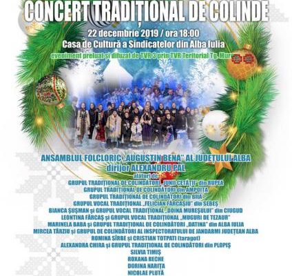 Alba Iulia - Concert de colinde la Casa de Cultură a Sindicatelor