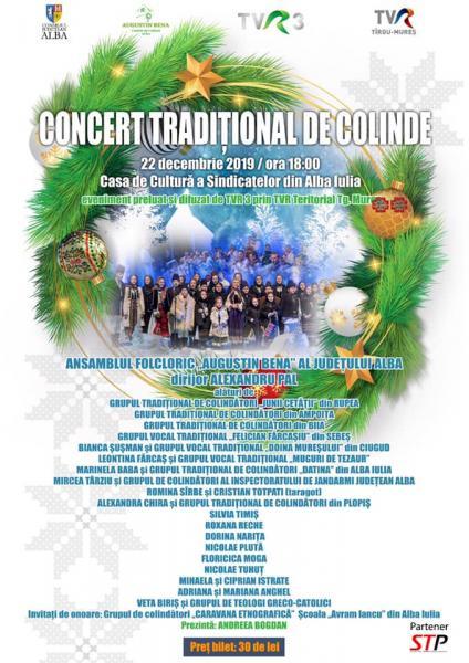 Alba Iulia – Concert de colinde la Casa de Cultură a Sindicatelor