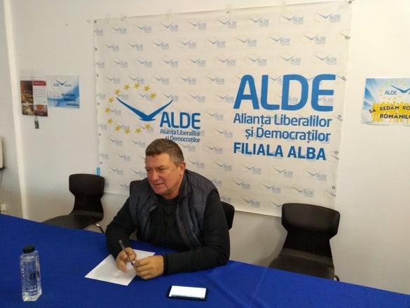 """Ioan Lazăr, președinte ALDE Alba:""""Alegerile anticipate, o greșeală care poate arunca țara în haos"""""""