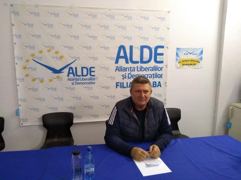 """Ioan Lazăr, președintele ALDE Alba: """"Eu sper că vom obține la alegerile locale un rezultat de 7%"""""""