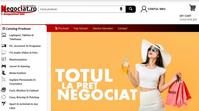 Noul marketplace negociat.ro a fost lansat în data de 1 decembrie!!!