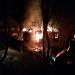 Incendiu la o casă de locuit din localitatea Fața Abrudului