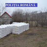 Îngrășăminte chimice, depozitate ilegal, indisponibilizate în urma unor percheziții ale polițiștilor