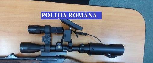 Dispozitive de ochire cu infraroșu, interzise la deținere, ridicate de polițiști